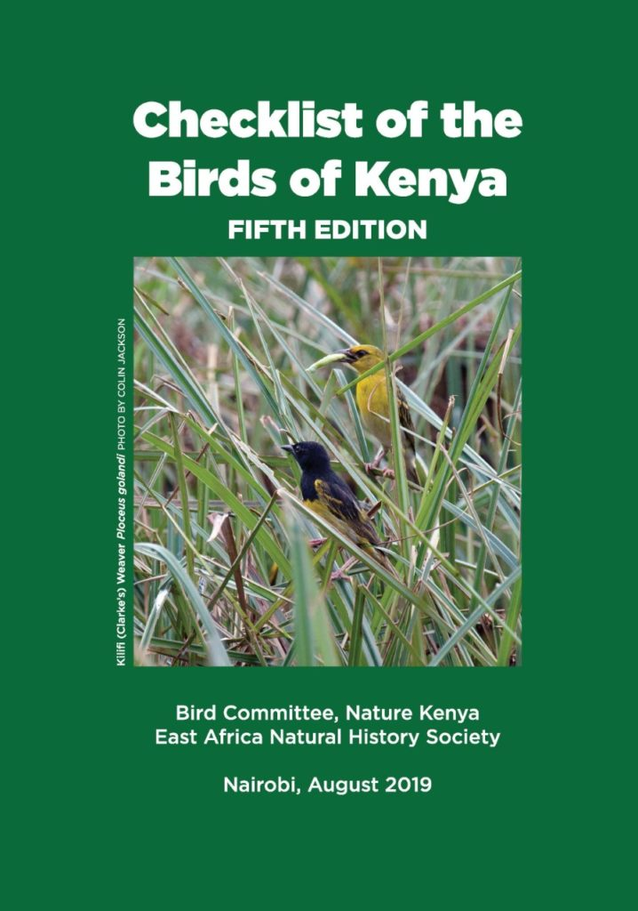 bird checklist 5th edition
