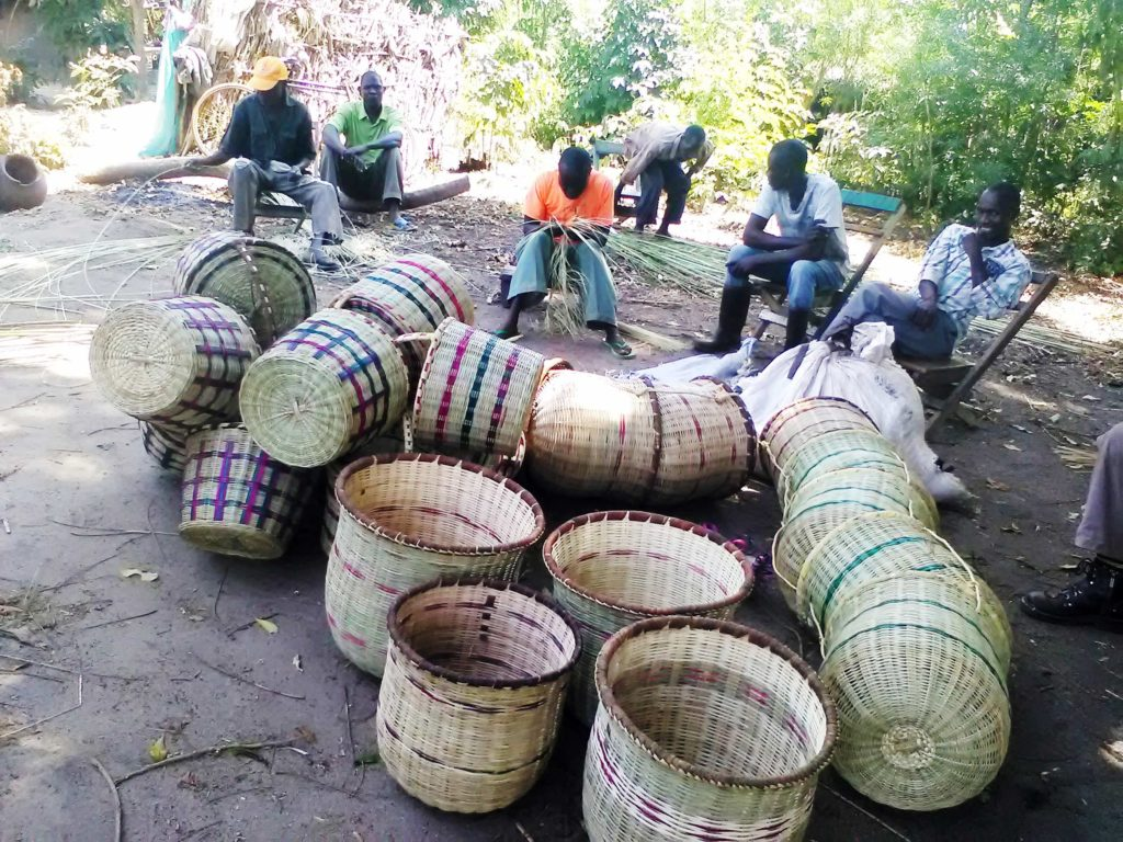 Weavers from Budalangi Handicrafts & Weavers (BUHAWE)